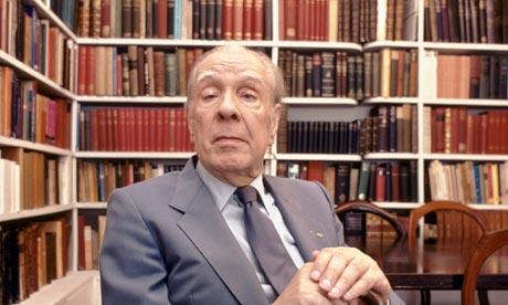 Borges che ha letto molti libri.